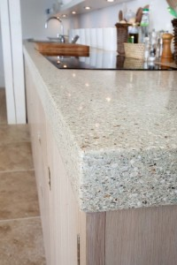 glass composite worktop