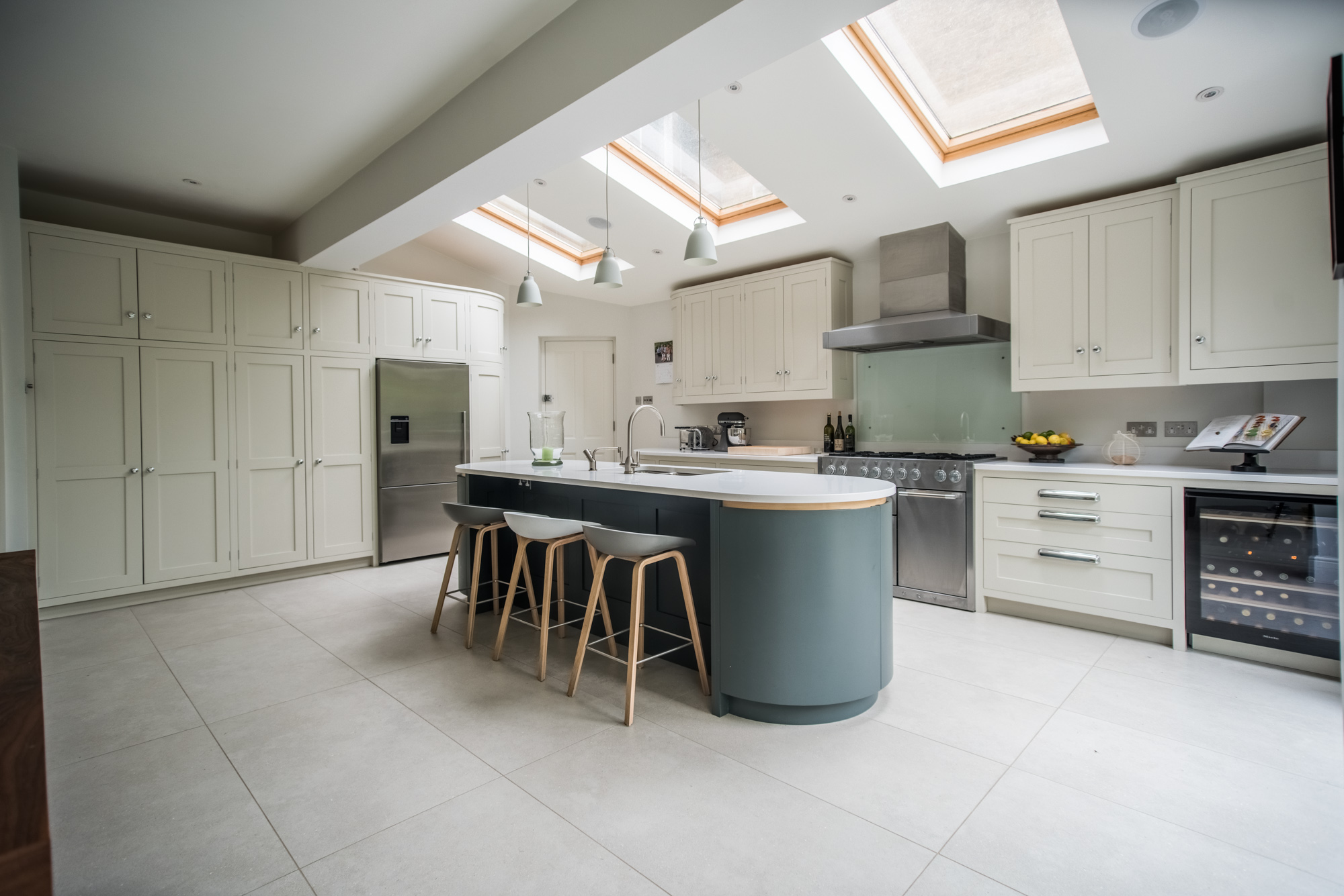 London Townhouse Kitchen - George Robinson Kitchens