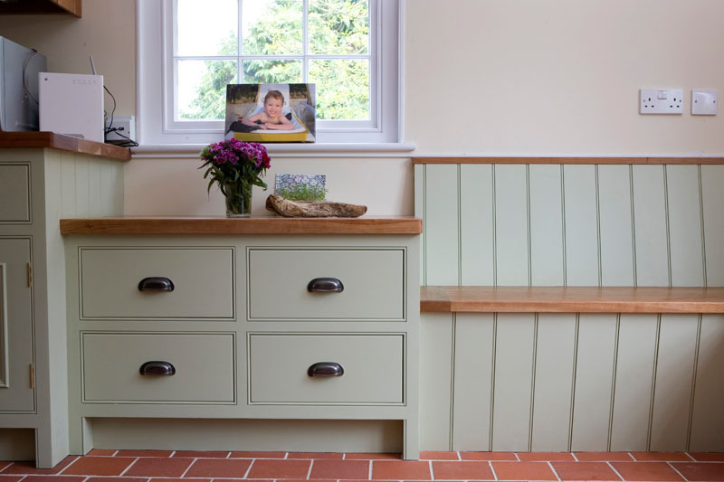 Captivating Bench Seating Is A Practical Choice In Any Country Style Kitchen And  Creates A Great Opportunity For Useful Hidden Storage, Where Items That Are  Not Used ...