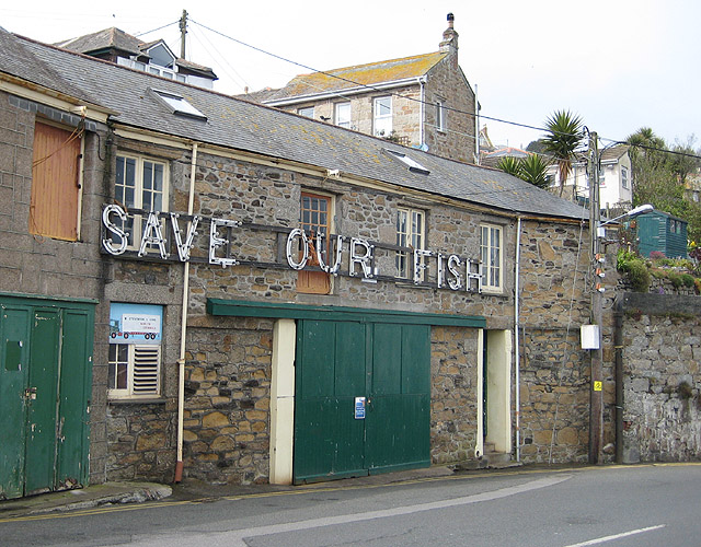 'Save_our_fish'_sign_at_Newlyn,_Cornwall